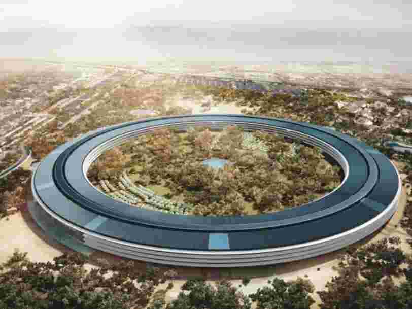 Le public a découvert pour la première fois l'intérieur du nouveau QG d'Apple à 5Mds$ — voici ce qui l'a marqué