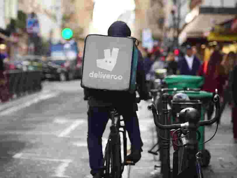 Amazon investit dans Deliveroo à l'occasion d'une énorme levée de fonds de 575 M$