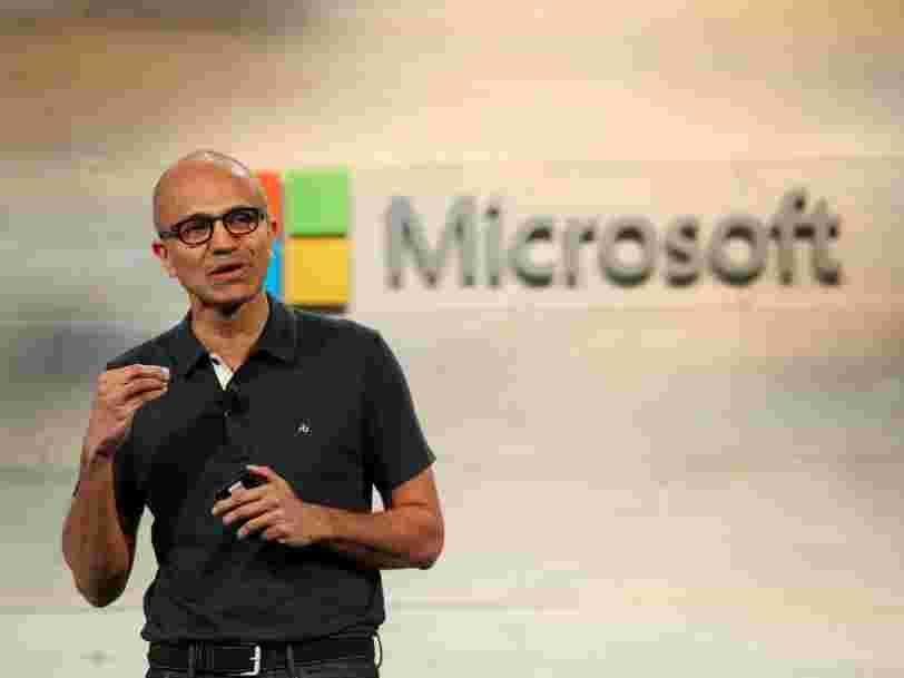 Microsoft publie des résultats qui dépassent nettement les attentes, l'action monte