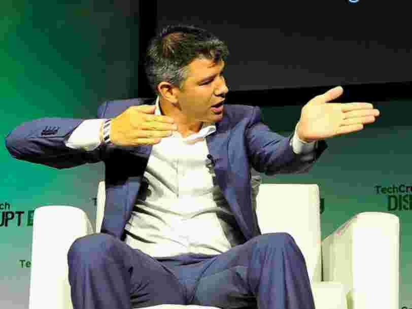 Le fondateur et ancien DG d'Uber Travis Kalanick lance un fonds de capital-risque centré sur l'Inde et la Chine