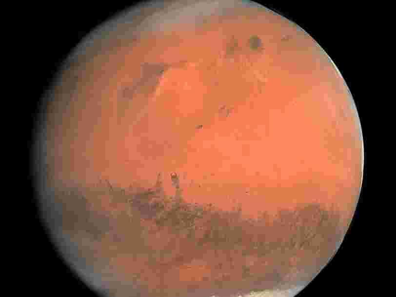 La NASA a découvert des couches de glace à la surface de Mars et cela pourrait 'changer la donne' concernant la colonisation de la planète