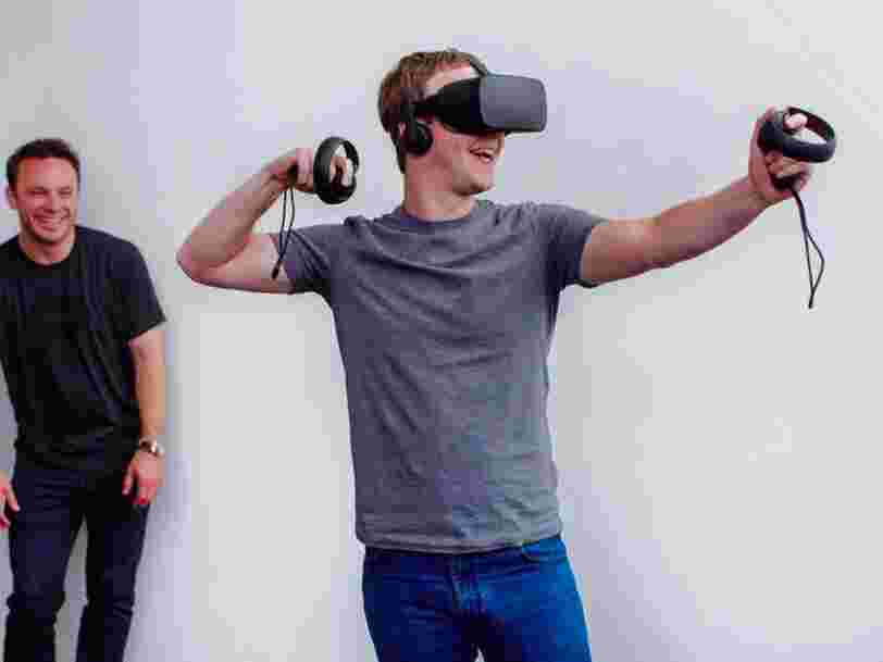 Facebook réduit le prix de son casque de réalité virtuelle alors que la concurrence s'intensifie