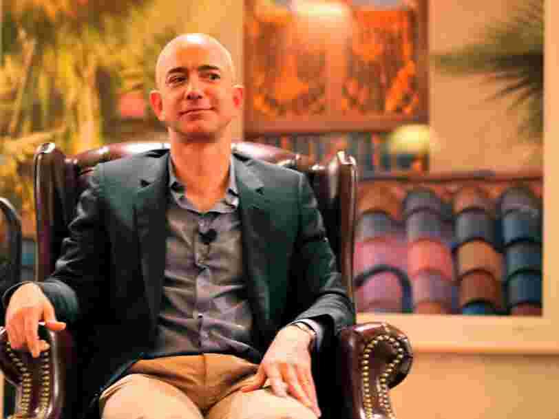 Amazon a perdu 40 Mds$ de capitalisation boursière après avoir annoncé des prévisions de ventes décevantes