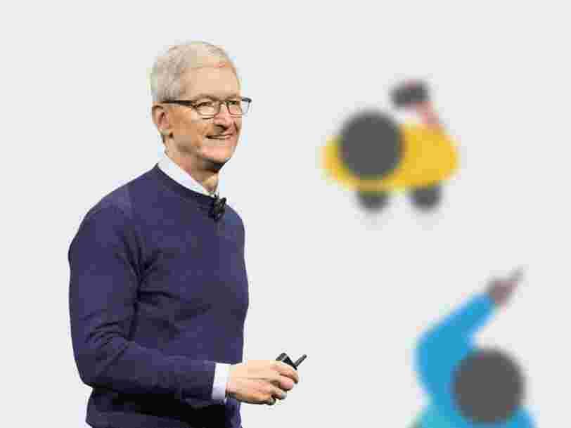 Un véhicule du discret programme de voiture autonome d'Apple a été impliqué dans un accident