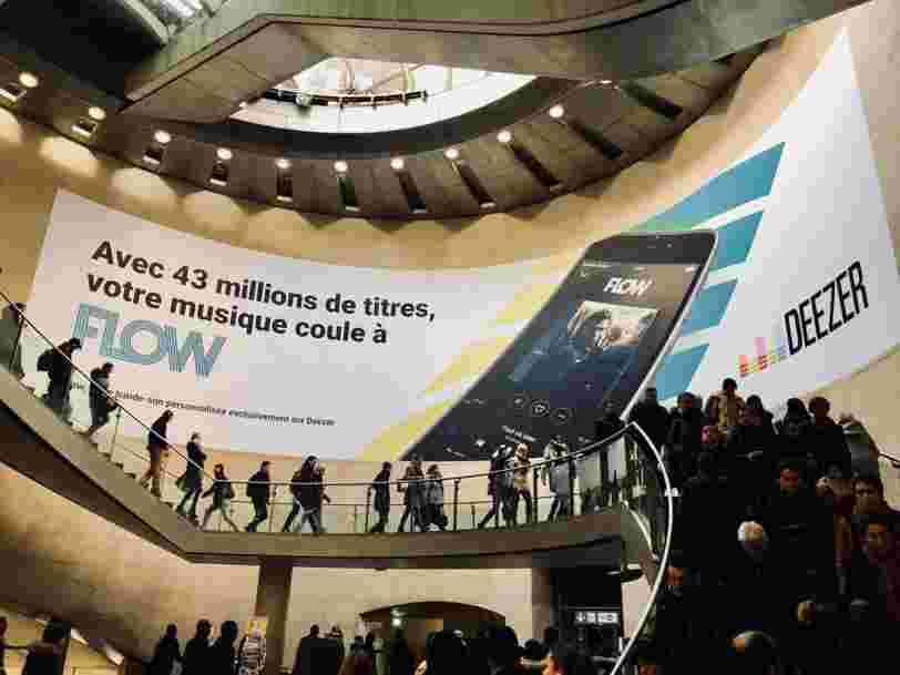 Deezer vaut désormais 1 Md$ après une levée de fonds auprès d'un prince saoudien actionnaire de Twitter et Apple
