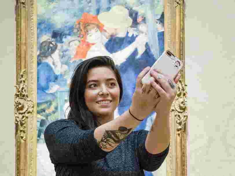 Instagram est le réseau social le plus utilisé par les artistes mais il ne convient pas à tous, explique une startuppeuse qui aide les investisseurs à fixer le prix d'une oeuvre
