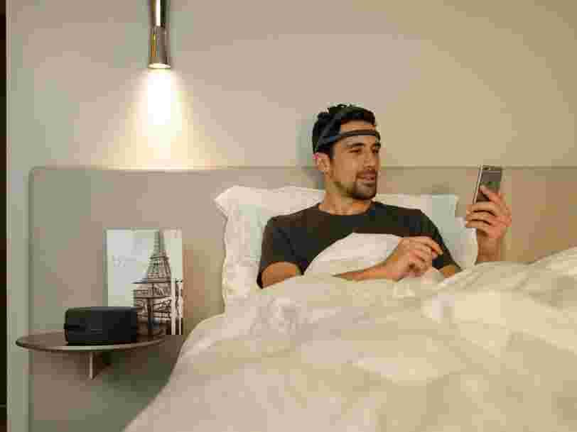 La startup française Dreem vient d'obtenir le soutien d'un géant américain de la santé — et ça pourrait accélérer l'adoption de son bandeau pour insomniaques