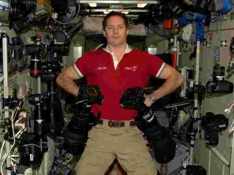 Thomas Pesquet s'oppose à Elon Musk en disant que l'idée d'aller sur la planète Mars pour la coloniser le 'dérange'