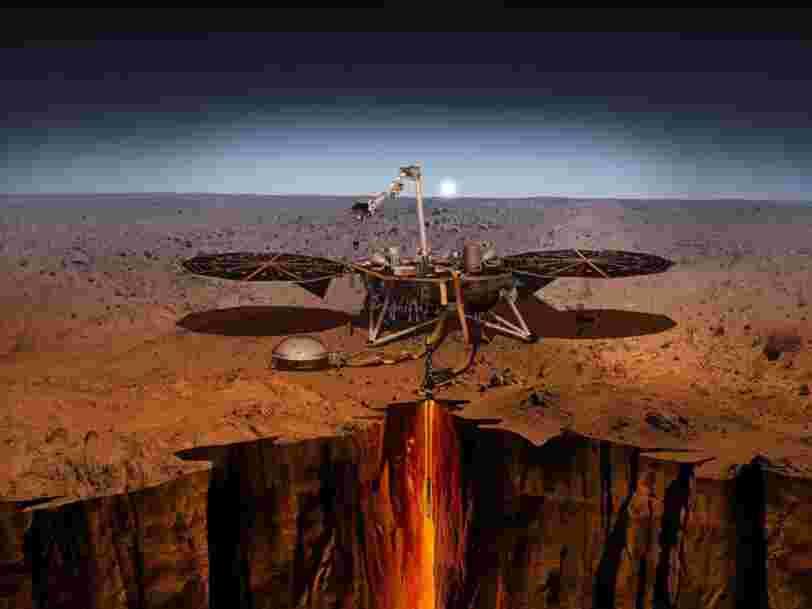 La sonde InSight de la NASA réussit son atterrissage sur Mars et pourrait nous révéler pourquoi la Terre est habitable et Mars ne l'est pas