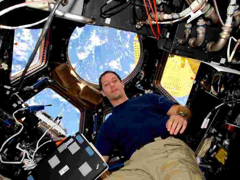 Thomas Pesquet a pris de nombreuses photos de l'espace — ses images peuvent servir aux économistes