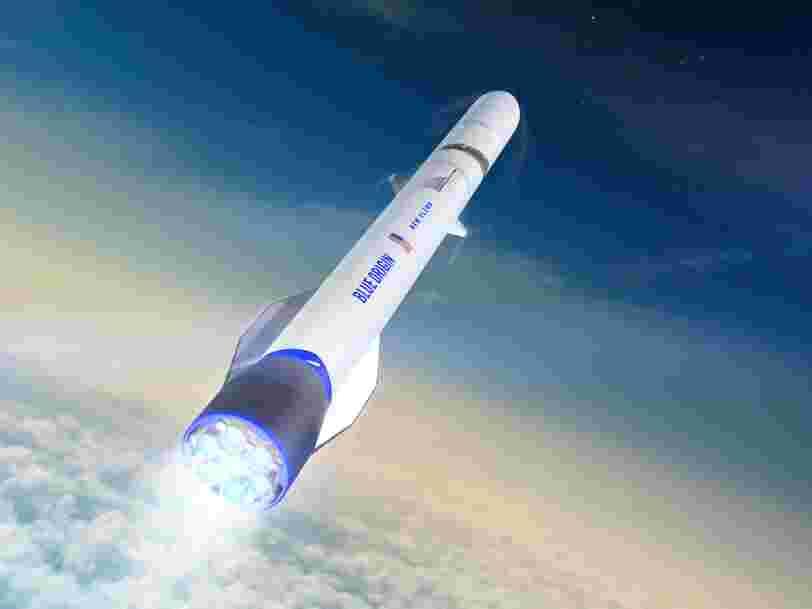 Blue Origin a signé avec un nouveau client de taille alors que sa fusée New Glenn ne sera prête que dans 2 ans