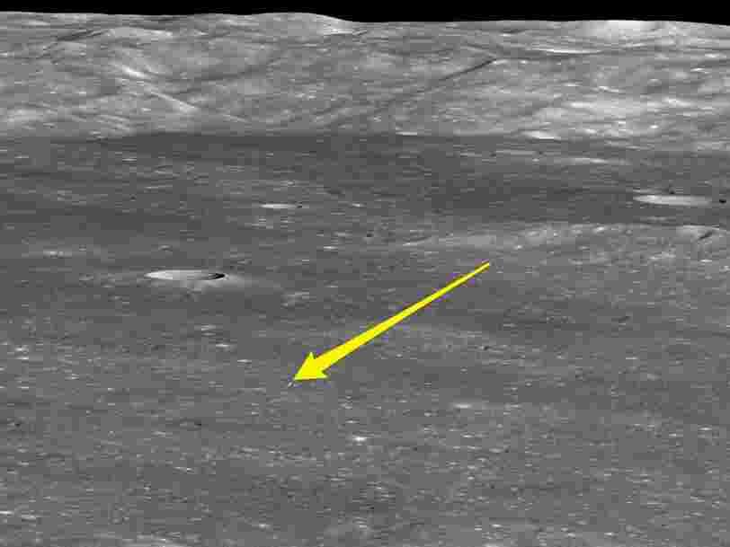 La NASA a photographié la sonde chinoise sur la face cachée de la Lune — voici ce qu'on peut y voir