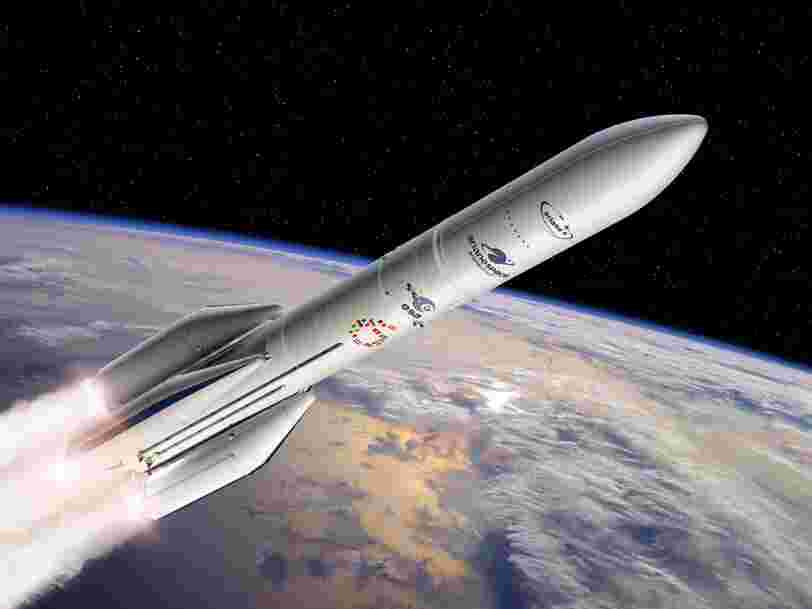 Arianespace afficherait une perte cumulée de 500M€ pour 2018-2023 — et c'est à cause de l'Américain SpaceX