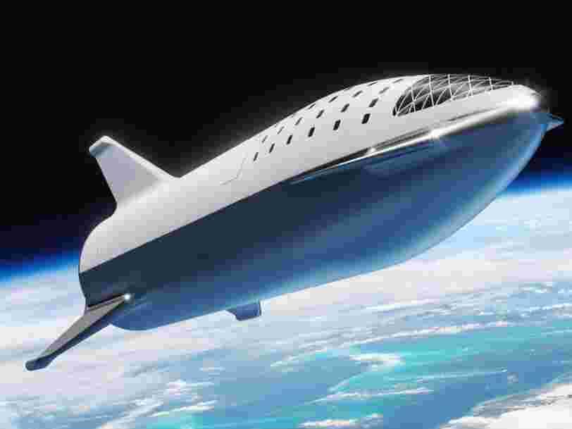 Elon Musk promet un voyage sur Mars à tarif abordable avec Space X, enfin presque