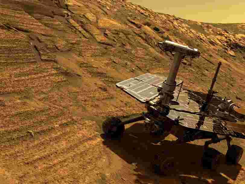 La NASA a décidé de lancer un compte à rebours pour son rover comateux sur Mars — Opportunity a 45 jours pour se réveiller après la fin de la tempête de sable