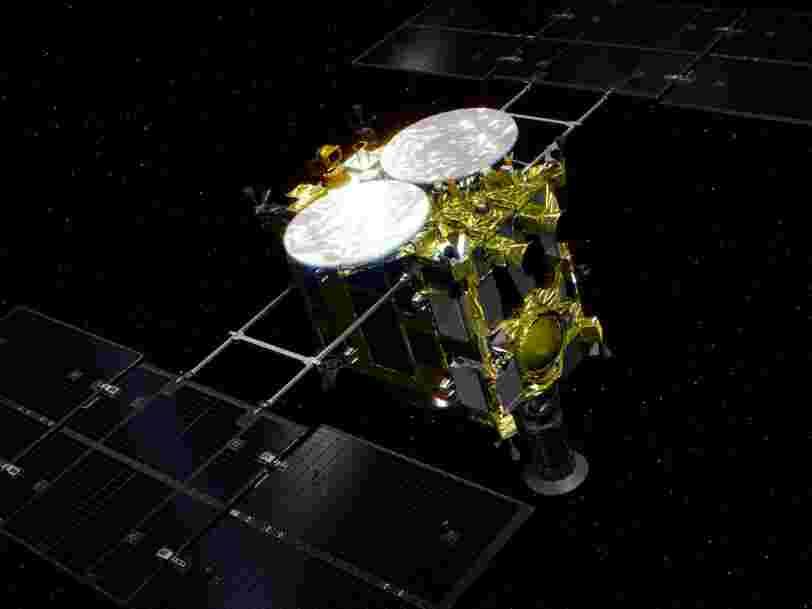 L'Agence spatiale japonaise vient de réaliser un exploit historique — et il pourrait permettre de percer les mystères de l'origine de la Terre