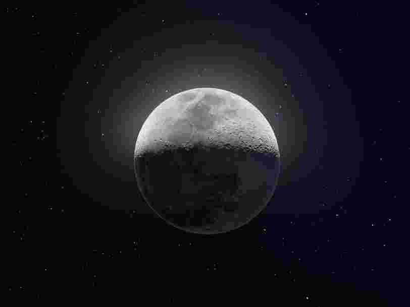 Un utilisateur de Reddit a compilé 50 000 images de la Lune pour n'en faire qu'une et le résultat est bluffant
