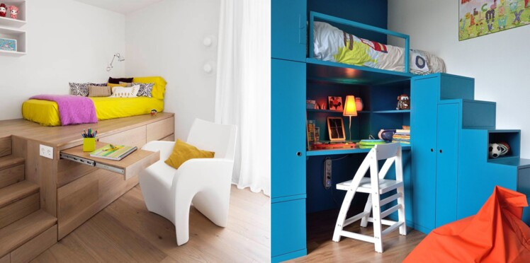 Chambre d enfant 12 astuces pour optimiser les petits - Comment peindre une chambre d enfant ...