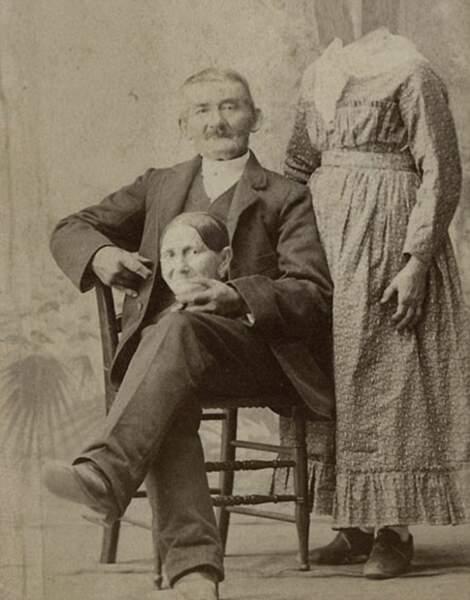 Au 19e siècle, Photoshop n'existait pas, mais on trafiquait déjà les photos