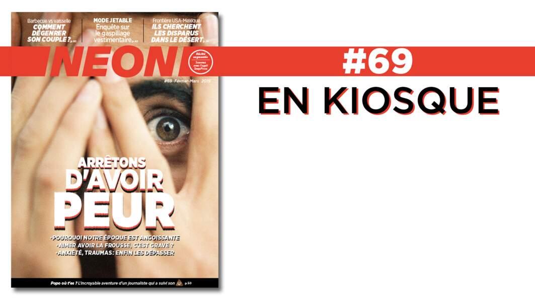 Vaincre la peur, fast fashion, dégenrer son couple… NEON #69 est en kiosque