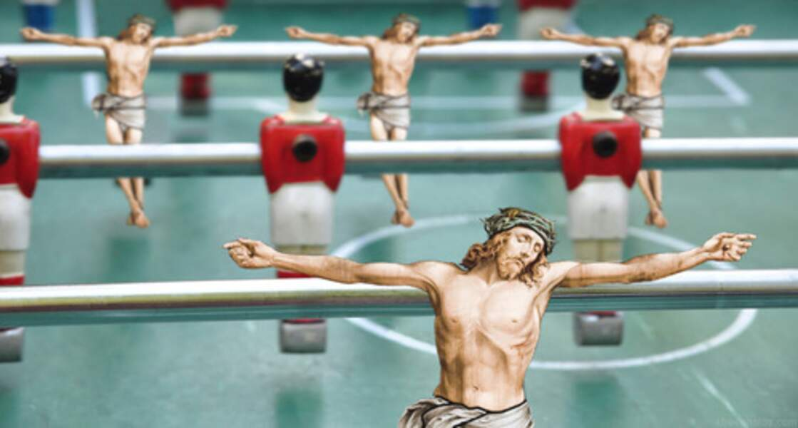 "Extrait du Tumblr ""Jesus everywhere"""