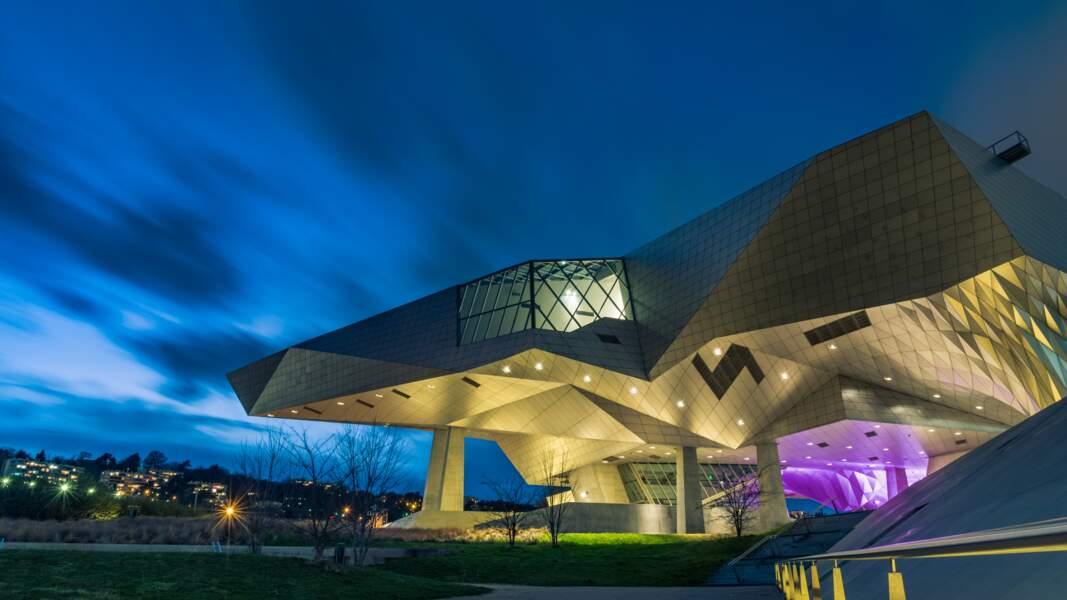 Il y a un musée qui ressemble à un vaisseau spatial