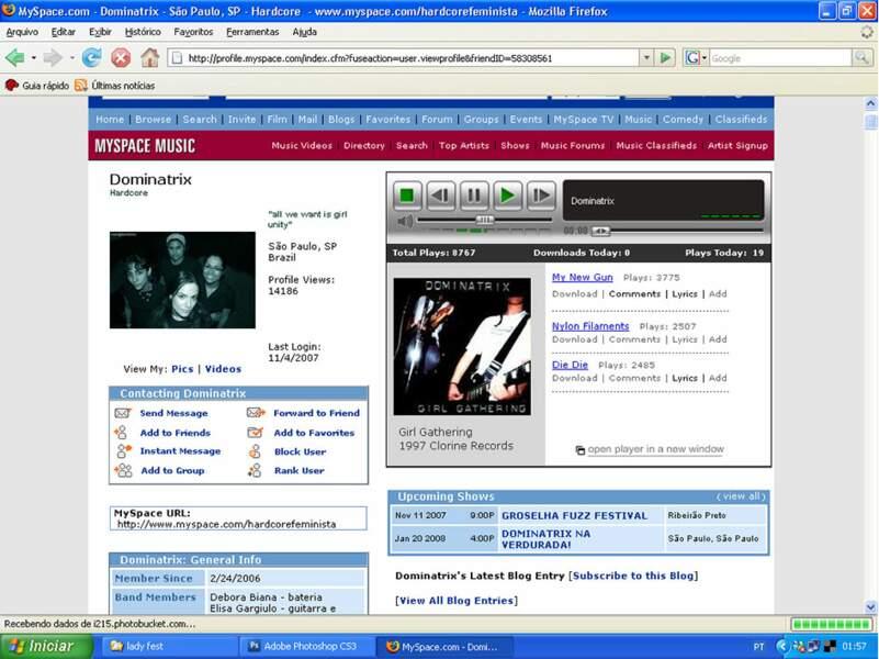 Myspace, les artistes et leurs fans