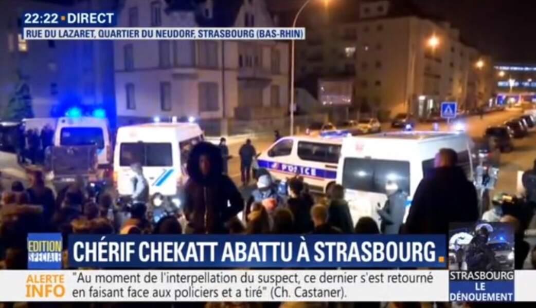 """BFM TV diffuse """"I Shot The Sheriff"""" après la mort du terroriste Cherif Chekatt"""