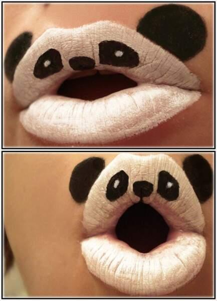 Bouche de panda