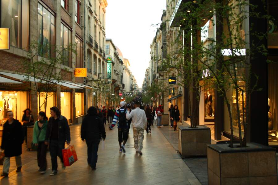 La plus longue avenue piétonne est à Bordeaux
