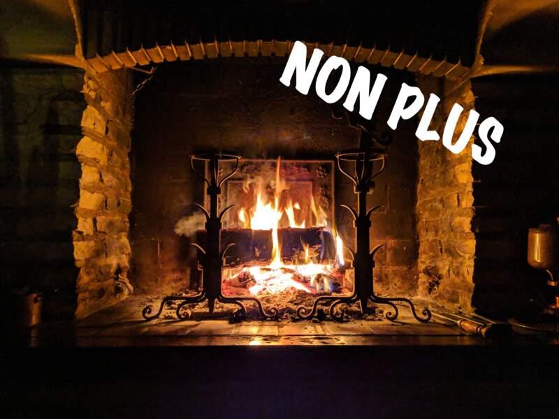 Le feu de cheminée est ce qu'il y a de plus écolo