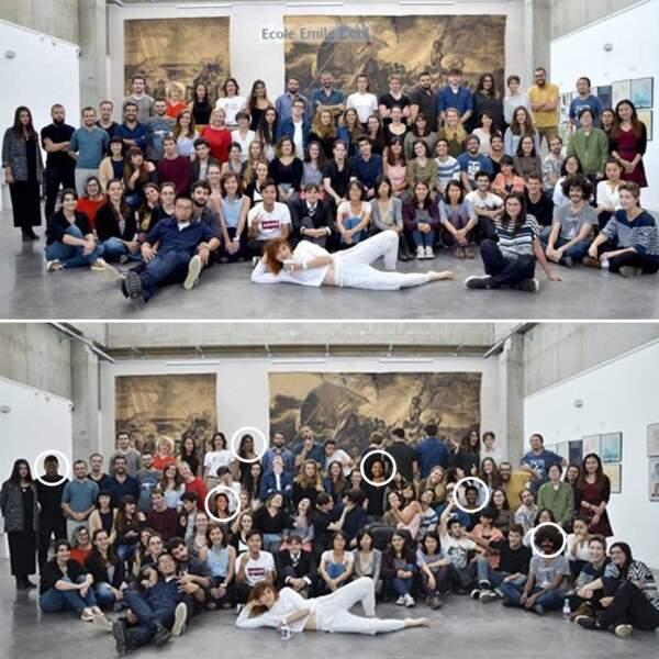 Une école d'art lyonnaise photoshope ses élèves pour les rendre plus noirs