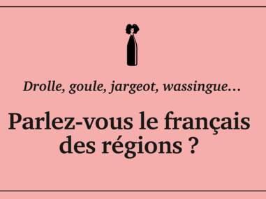 Riboul, wassingue, jargeot…Connaissez-vous le français des régions ?