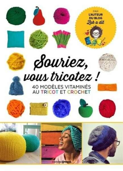 Un livre pour tricoter des BEAUX trucs