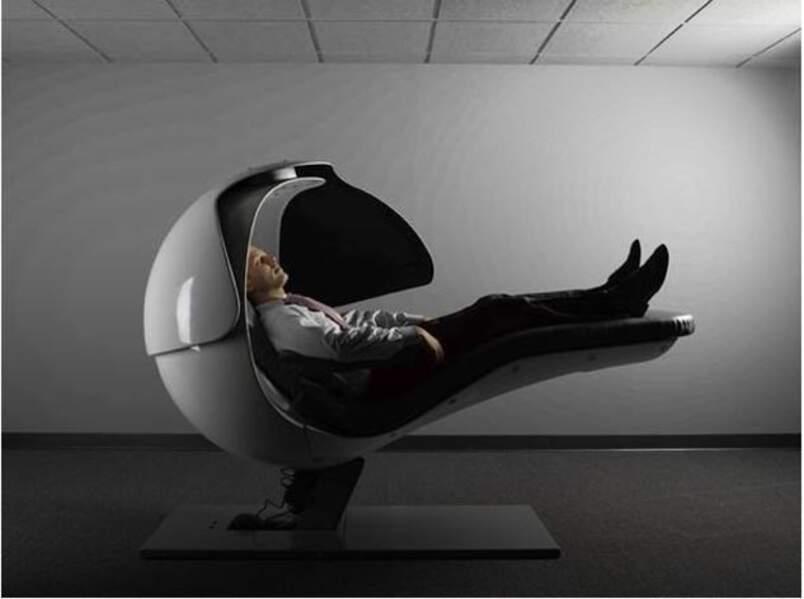 La sieste selon Google (Metro Naps Energy Pods)