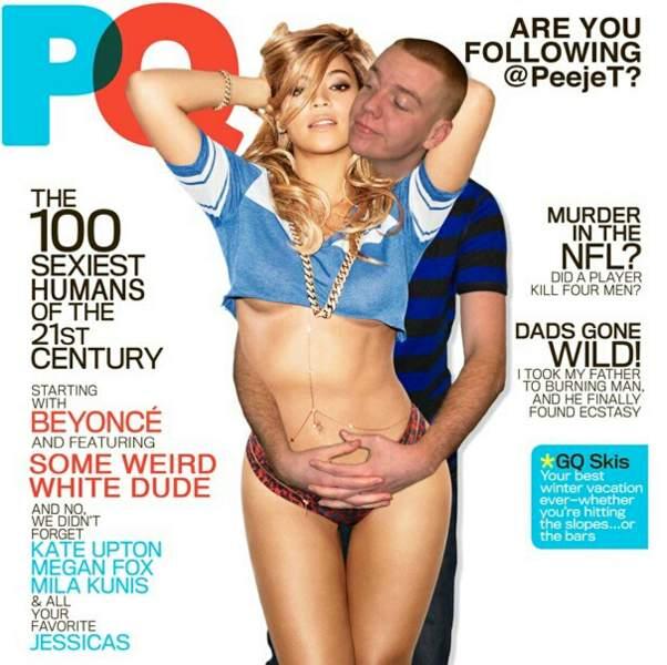 En couv, avec Beyonce