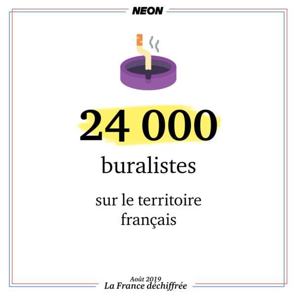 24 000 buralistes sur le territoire français