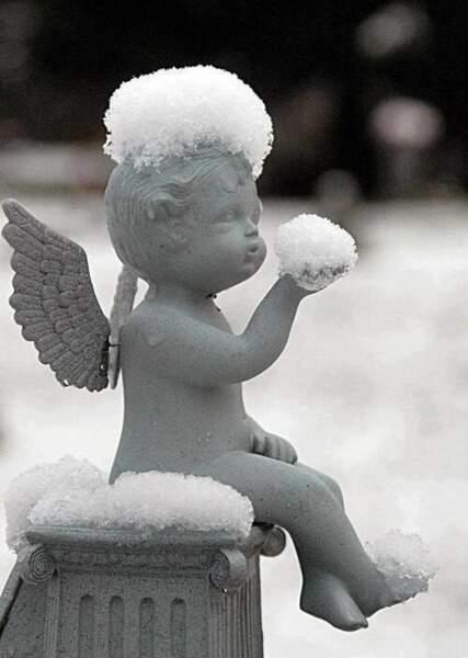 Coincé par la neige