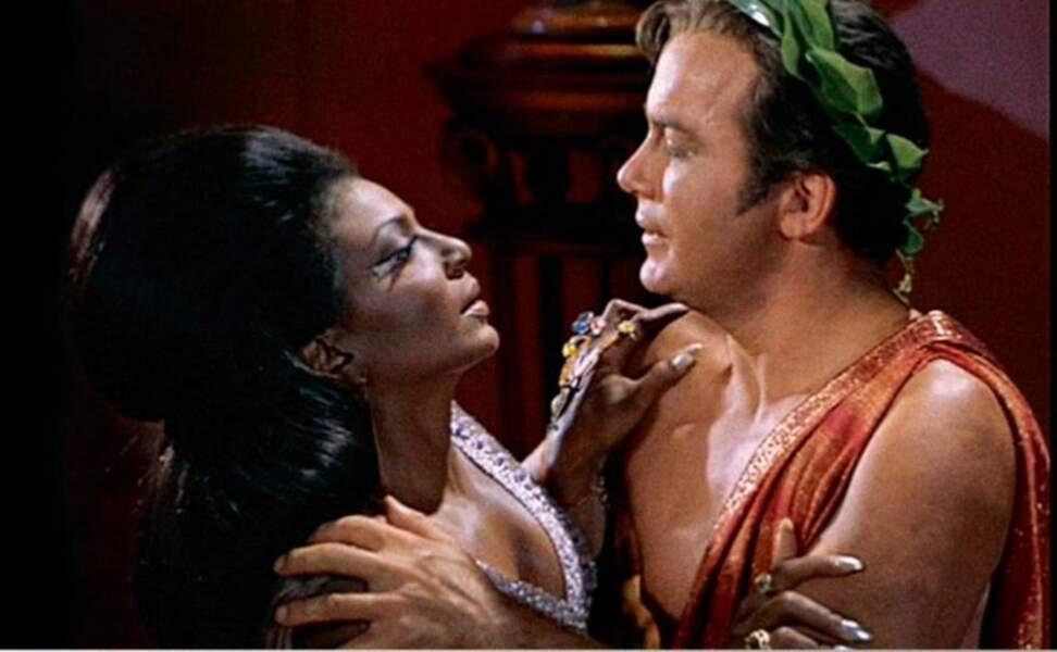 Le premier baiser interracial dans une série a été diffusé dans Star Trek en 1968
