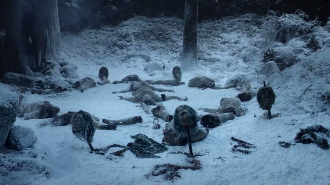La forêt enneigée à Westeros