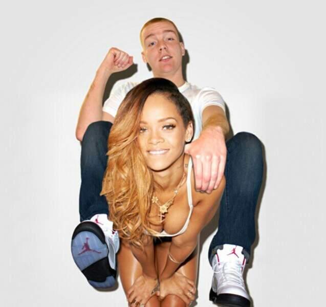 Avec Rihanna