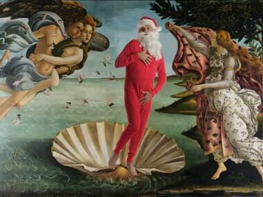Le Père Noël en peinture
