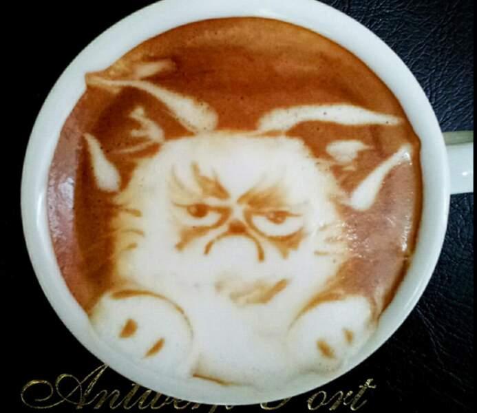 Grumpy cat is grumpy, comme d'habitude