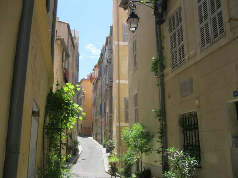 Le Panier est l'un des plus beaux quartiers de France
