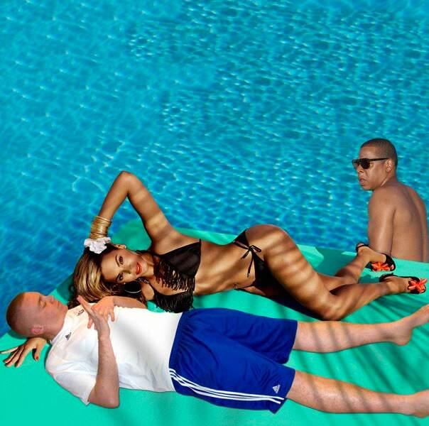 Avec Beyonce et Jay-Z