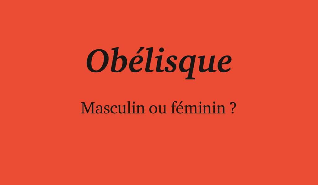 Obélisque