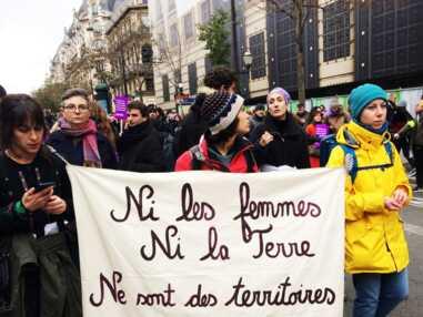 Les meilleurs photos et slogans de la manifestation contre les violences sexistes du 24 novembre #noustoutes #nousaussi