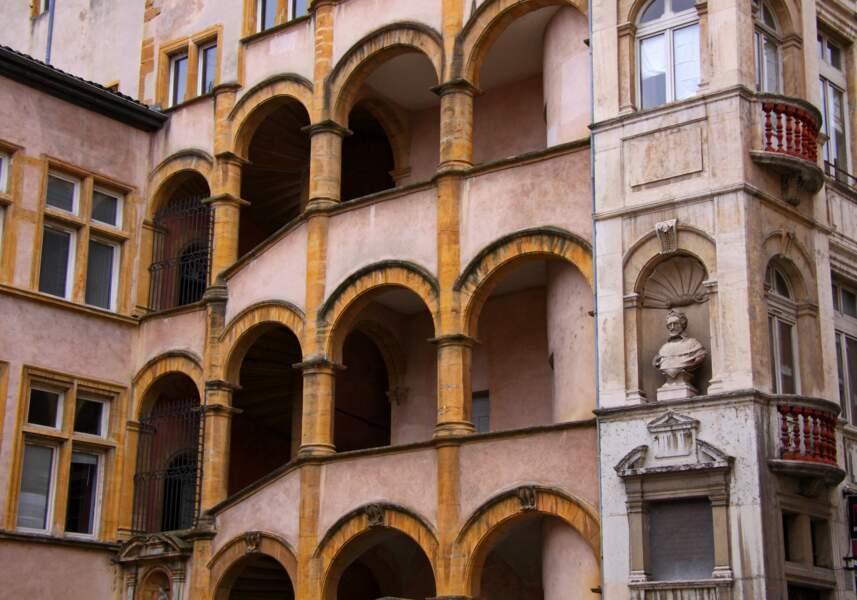 Les traboules font des balades dans Lyon une aventure