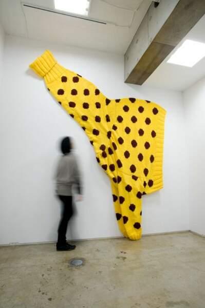 Pull pour girafe