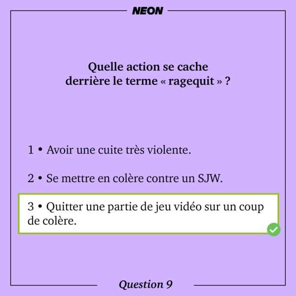 Réponse 9